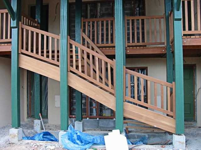 Escalier extérieur (3)