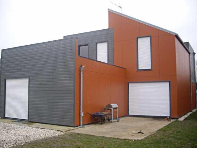 Maison ossature bois moderne