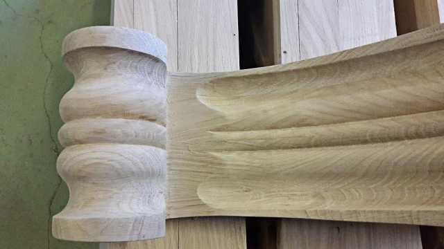Fabrication de console en chêne (3)